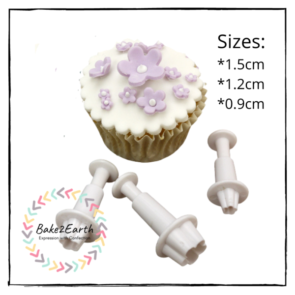 Mini Blossom Plunger Cutter Set