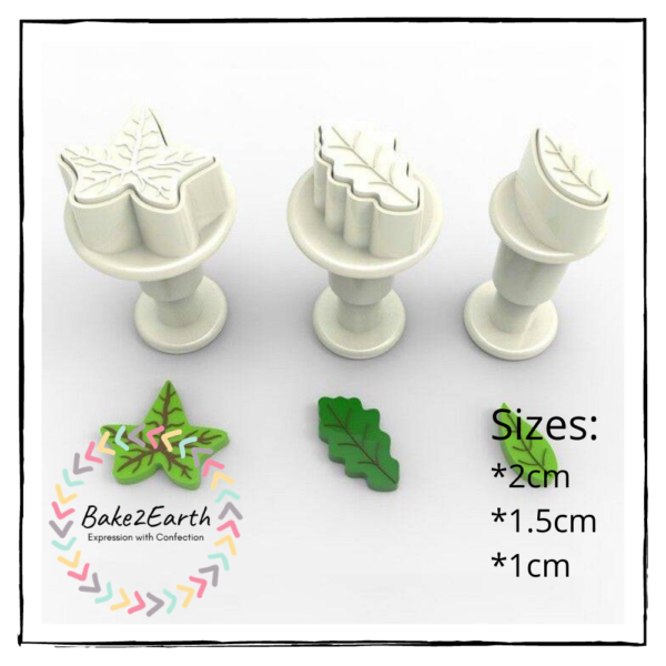 Mini Leaves Plunger Cutter Set