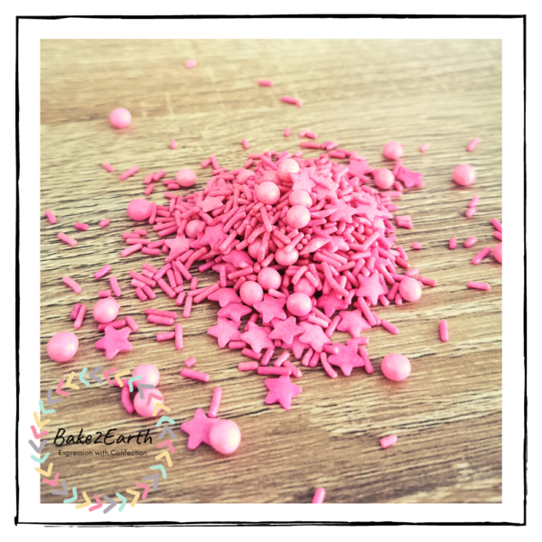 One Colour Mixed Sprinkles - Tulip