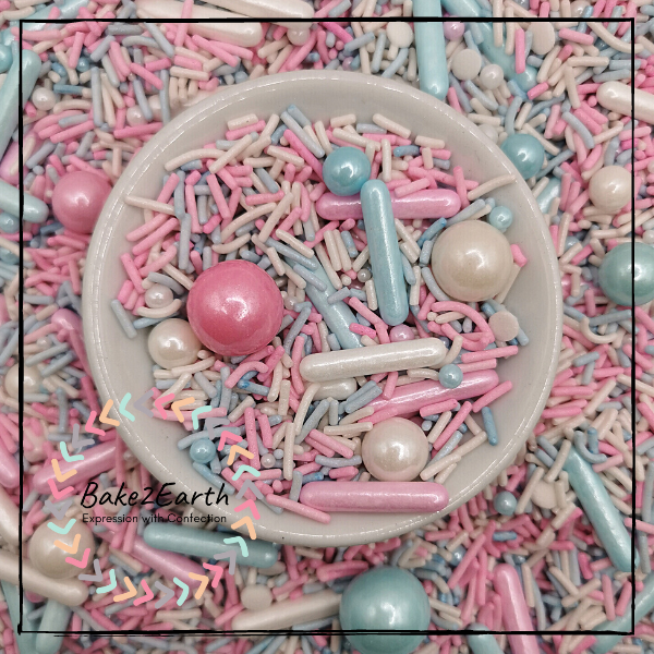 Themed Sprinkles - Cotton Candy
