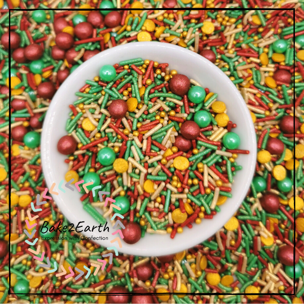 Themed Sprinkles - Christmas in Style